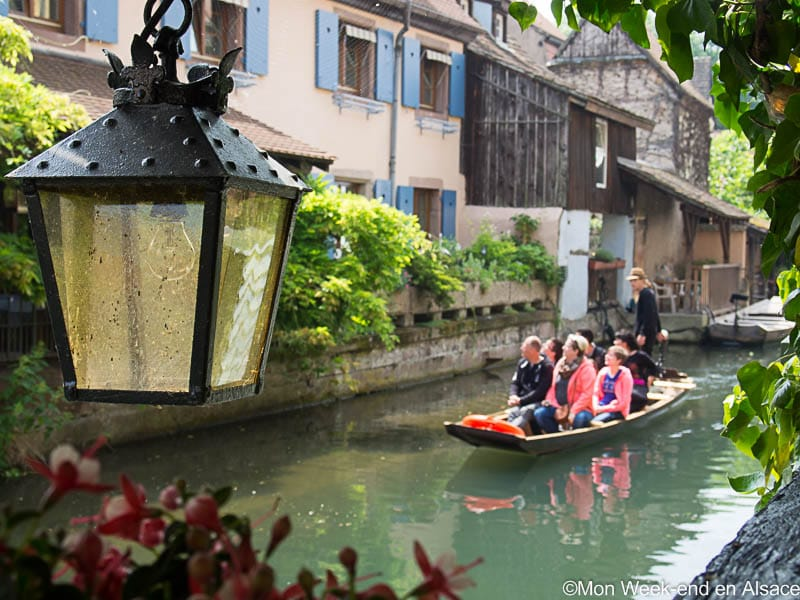 Boat trip in the Little Venice of Colmar