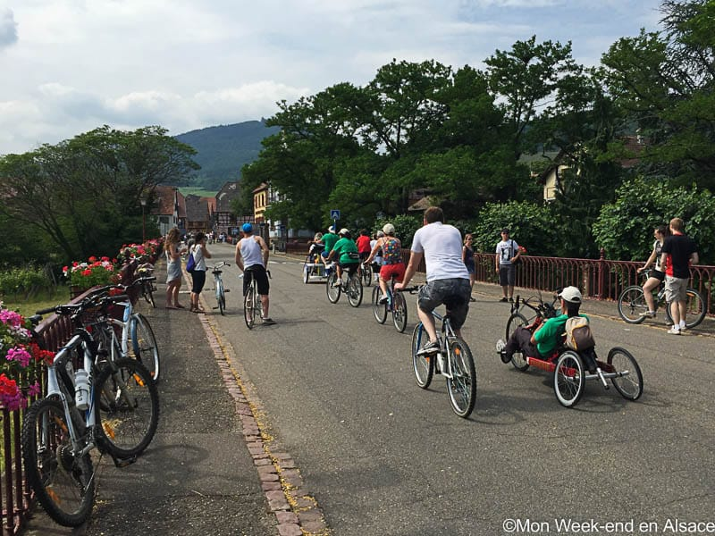 SlowUp Alsace – By bike and on foot on the Wine Route!
