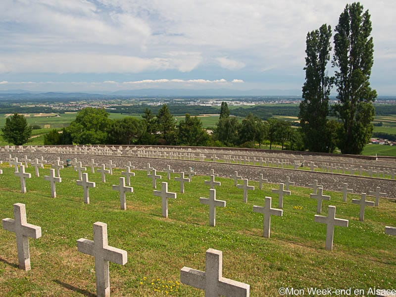 National war cemetery of Sigolsheim
