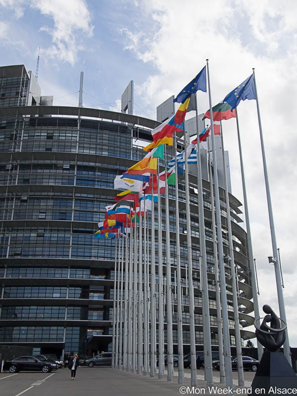 Visit of the European Parliament in Strasbourg