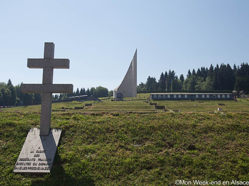 Visit of the former Natzweiler-Struthof concentration camp