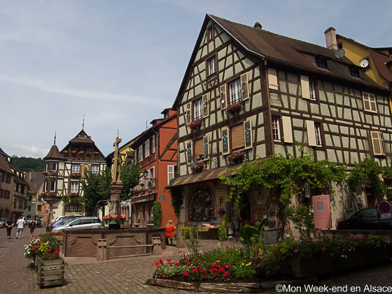 Kayserberg, a village on the Alsace Wine Route
