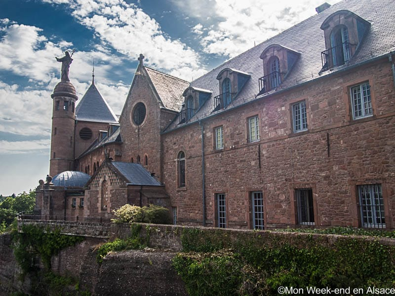 Mont Sainte-Odile, a must-do in Alsace