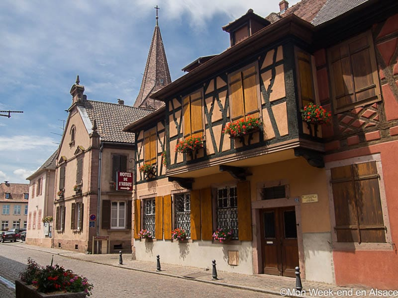 Kientzheim, a village on the Alsace Wine Route