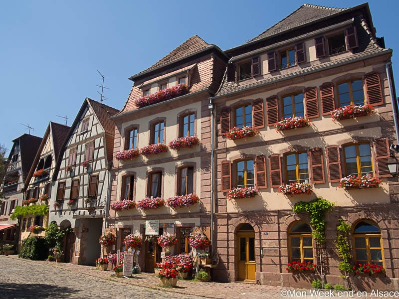 Bergheim, a village on the Alsace Wine Route