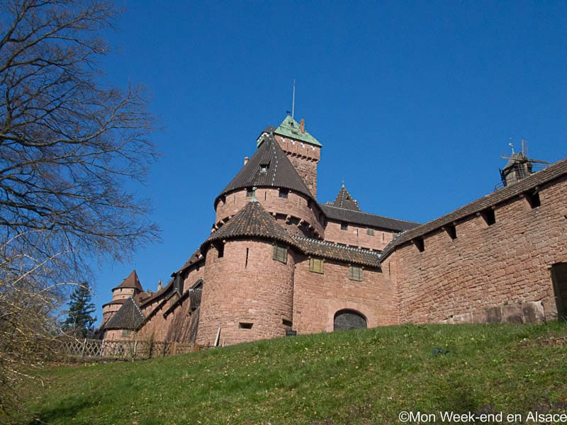 Visit of the Haut-Koenigsbourg castle
