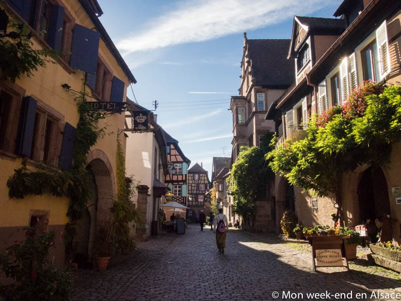 Riquewihr, a village on the Alsace Wine Route