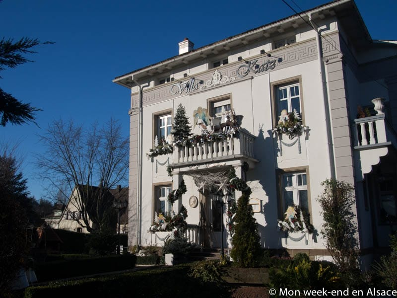 Hôtel Villa Katz in Saverne – The charm of a building from the 1900's
