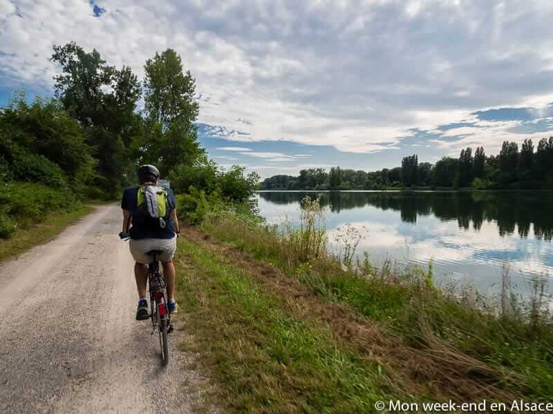 Bike ride itinerary – Strasbourg, on each side of the Rhine (2h30)