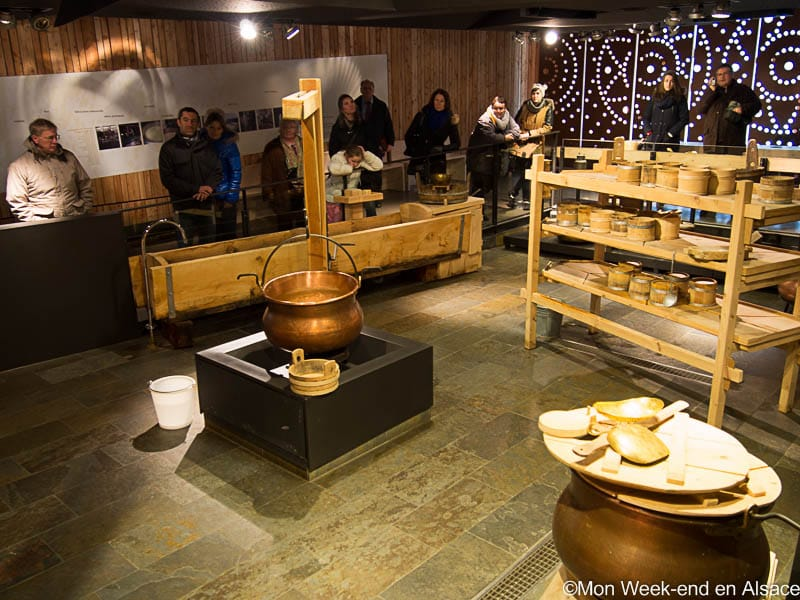 Visit of La Maison du Fromage in the Valley of Munster