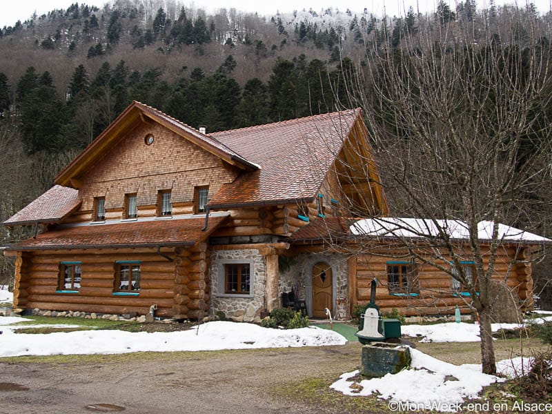 Bed and Breakfast in the Valley of Munster – Les Rondins de la Fecht