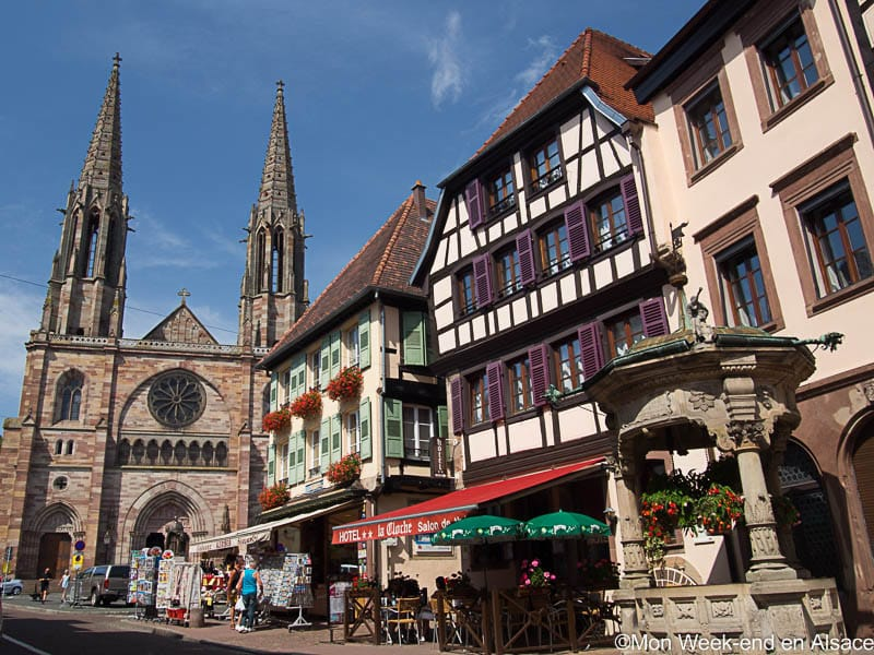 A visit to Obernai, a town on the Alsace Wine Route