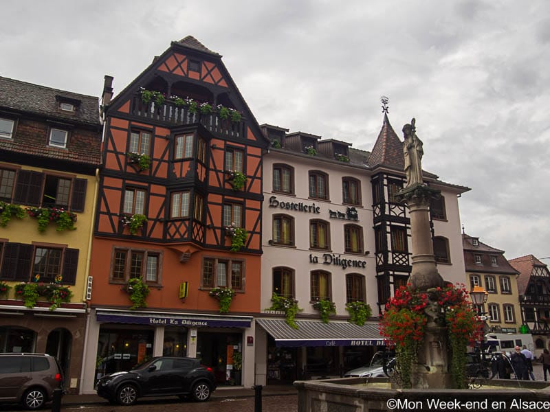 Obernai Is A Small Town Located On The Alsace Wine Route, Between Colmar  And Strasbourg. It Is One Of The Unmissable Stops When Visiting Alsace, ...