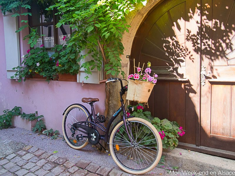 Eguisheim, a village on the Alsace Wine Route