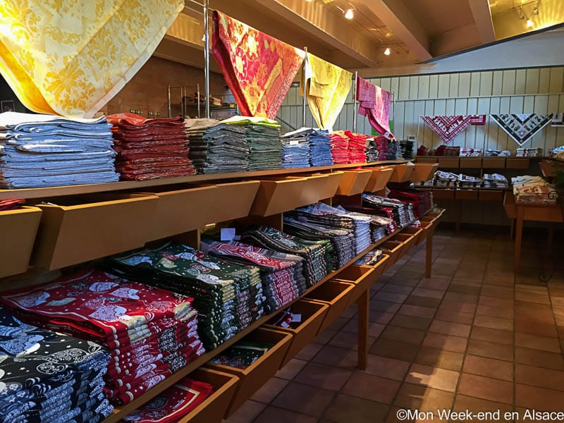 Shopping idea in Alsace – Beauvillé table linens