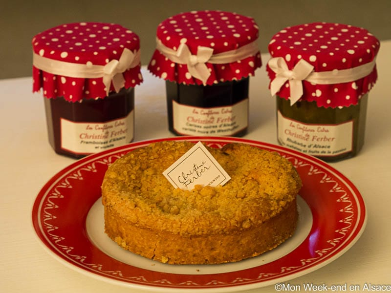Shopping idea in Alsace – Christine Ferber's jams