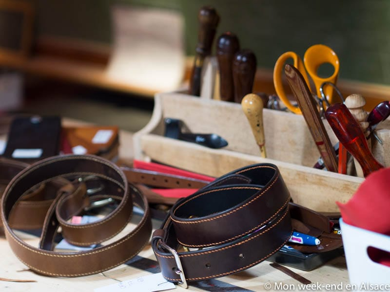 Shopping idea in Alsace – Catherine Piernot, an artisan saddle and harness maker