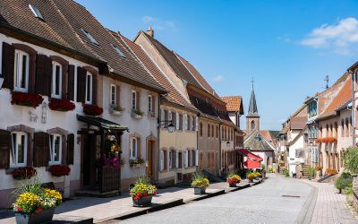 La Petite Pierre, a village at the heart of the Northern Vosges