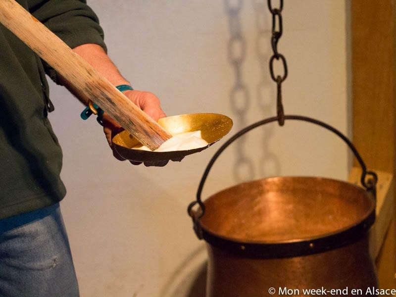 Visit of a Munster dairy – La ferme du Versant du Soleil