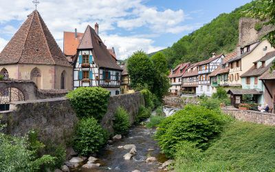 Kaysersberg, a village on the Alsace Wine Route